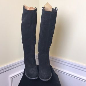 Like new black suede UGG boots size 11